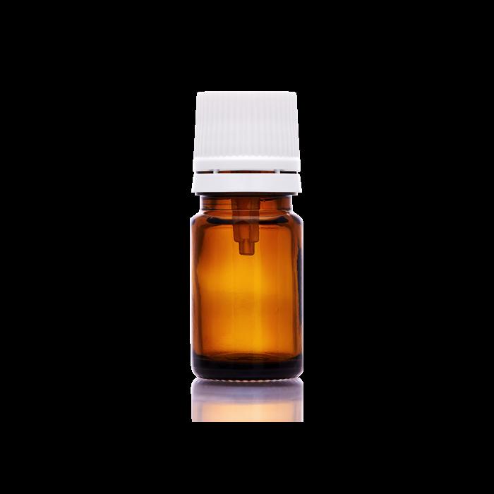 Folyadéküveg cseppentőbetéttel 5 ml