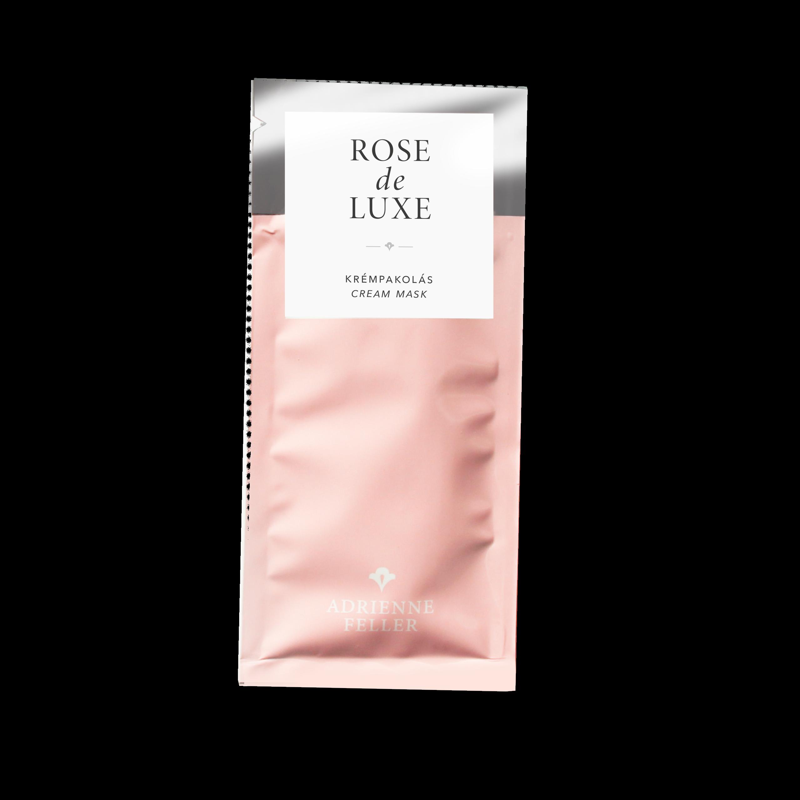 Rose de Luxe Krémpakolás - mini termék