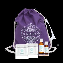 Bölcsi csomag - Panarom lila táskával